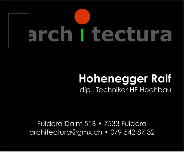 architectura Hohenegger Ralf